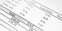 Registrierung zur Umsatzsteuer und Bankkonto